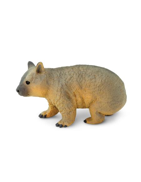 Figurine Wombat Safari Ltd® 226229 Jouet réaliste Matériel pédagogique Cartes Animaux Montessori replique sauvages
