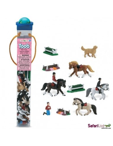 Derby de poneys figurine educative montessori education