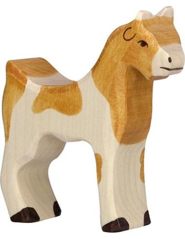Figurine chèvre Holztiger Animaux Ferme Jouet bois Goki jeu libre montessori reggio monde miniature construction eco europe