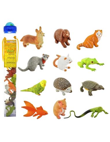 Les animaux de compagnie figurine educative montessori education