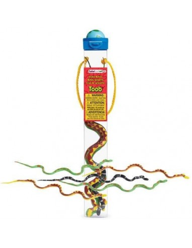 Figurines bébés serpents - Tube Safari Ltd® 683104 Safari Ltd® {PRODUCT_REFERENCE}  Tubes et Toob® - 2
