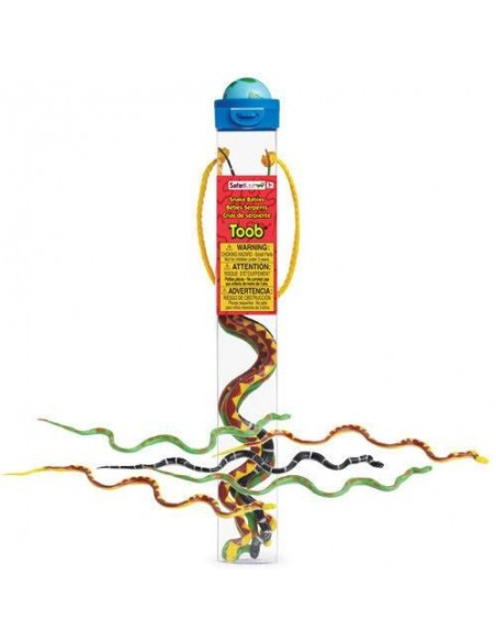 Lots de bébés serpents figurine educative montessori education