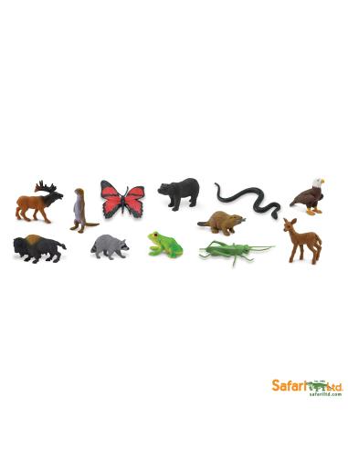 animaux forêt prairie figurine educative montessori education